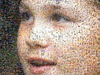 Josie as a Dynamic Photo Mosaic