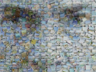 Mike as a Pin Board Photo Mosaic